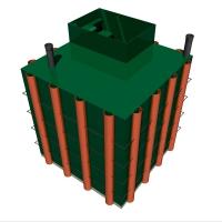 Модуль для хранения (пластиковый погреб)  Alta  Pogreb