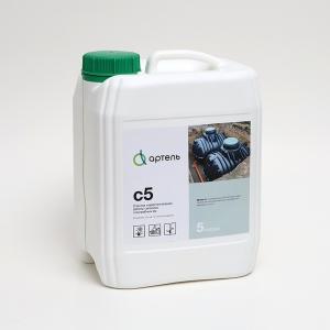 Биопрепарат Артель С5 для очистки сточных вод в бытовых и промышленных системах водоотведения, активации работы септиков и профилактики образования засоров
