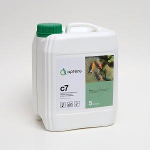 Биопрепарат Артель С7 предназначен для очистки пресных водоемов